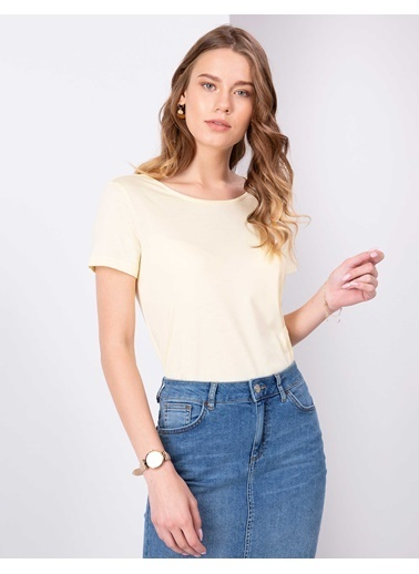 Pierre Cardin T-Shirt Sarı